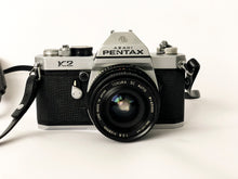 Charger l'image dans la galerie, APPAREIL PHOTO VINTAGE PENTAX K2 CHROME