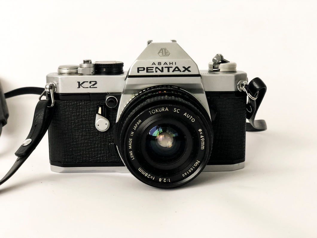 APPAREIL PHOTO VINTAGE PENTAX K2 CHROME