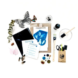 Kit Cyanotype dispo chez https://www.chloemccarrick.com/