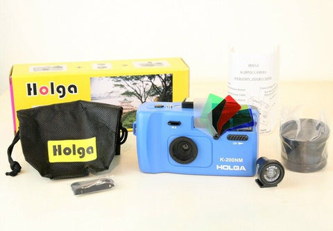 Holga K200NM  film35mm + fisheye  + Flash couleur