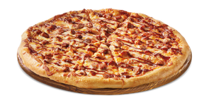 BBQ Chicken Pizza -