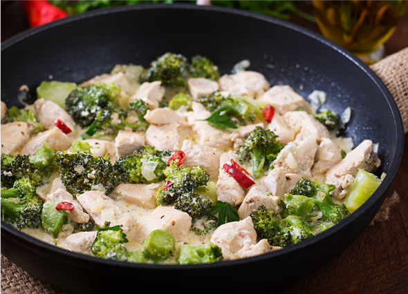 Jalapeño Chicken Broccoli -