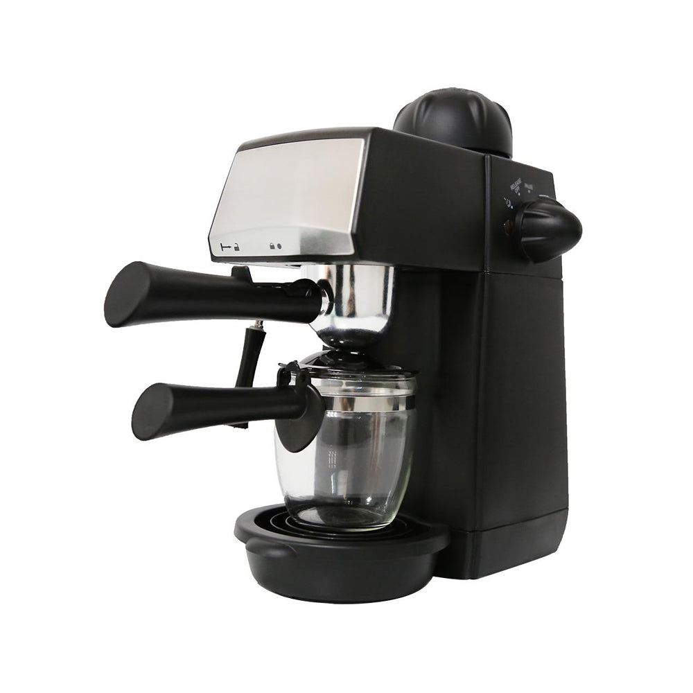 Semi-Automatic Espresso Coffee Machine Steam Type Overheat, 240ml