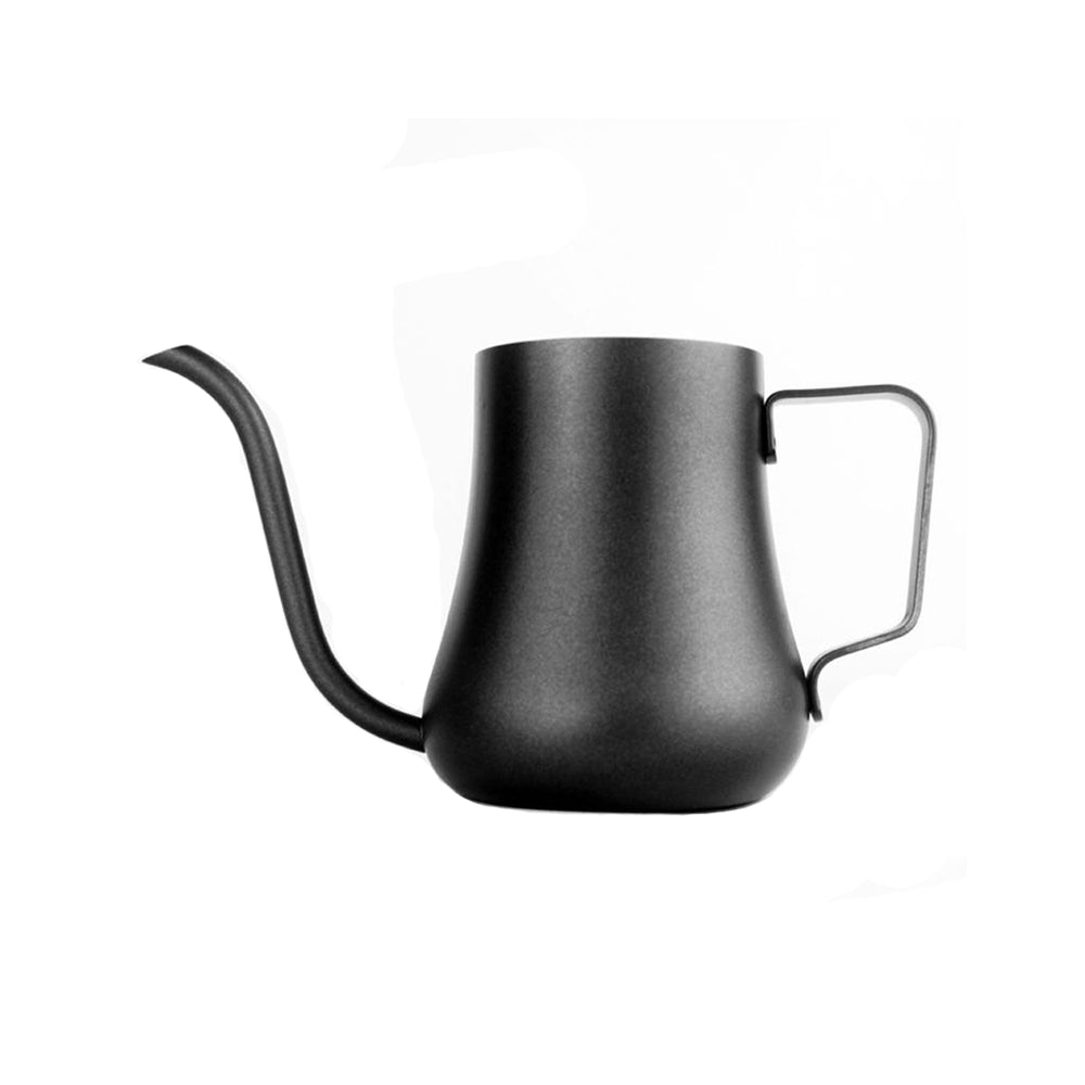 Black Stainless Steel Coffee Drip Pot for V60 Pour Over 300 550 ml