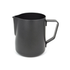 Black Vintage Stainless Steel Pitcher Milk for Coffee Latte, Cappuccino, and Flat white