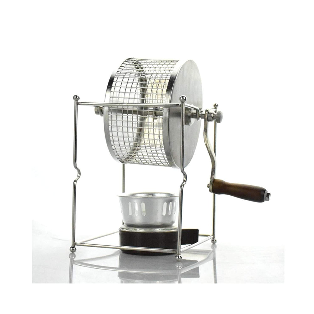 Stainless Steel Coffee Roaster Manual Coffee Beans Baking Machine