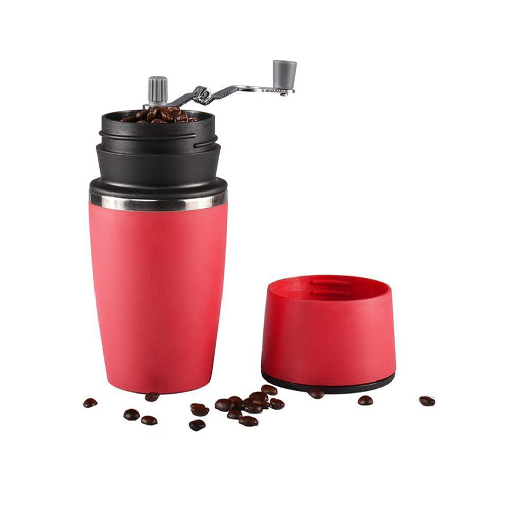 3 in 1 Portable Coffee Grinder ,Coffee Maker, and Elegant Cup