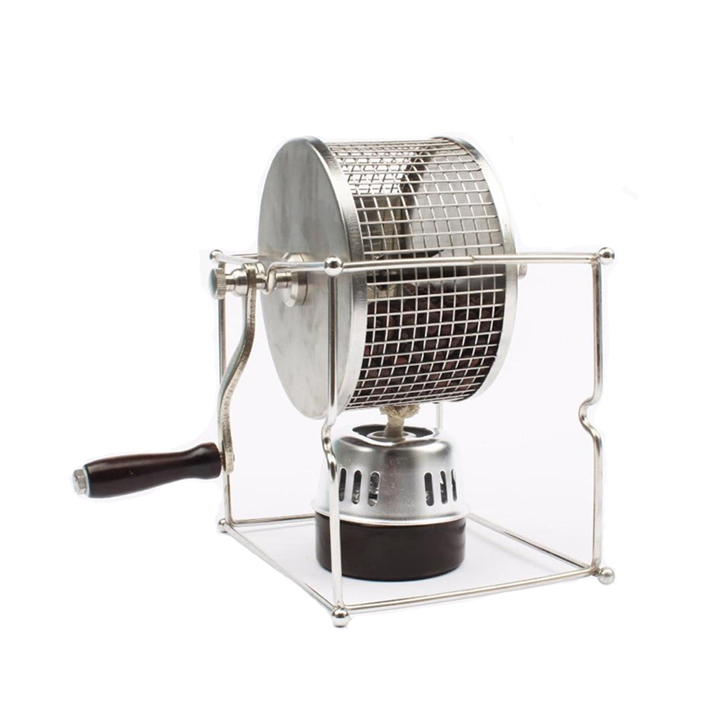 Coffee roasting machine small stainless steel rollers