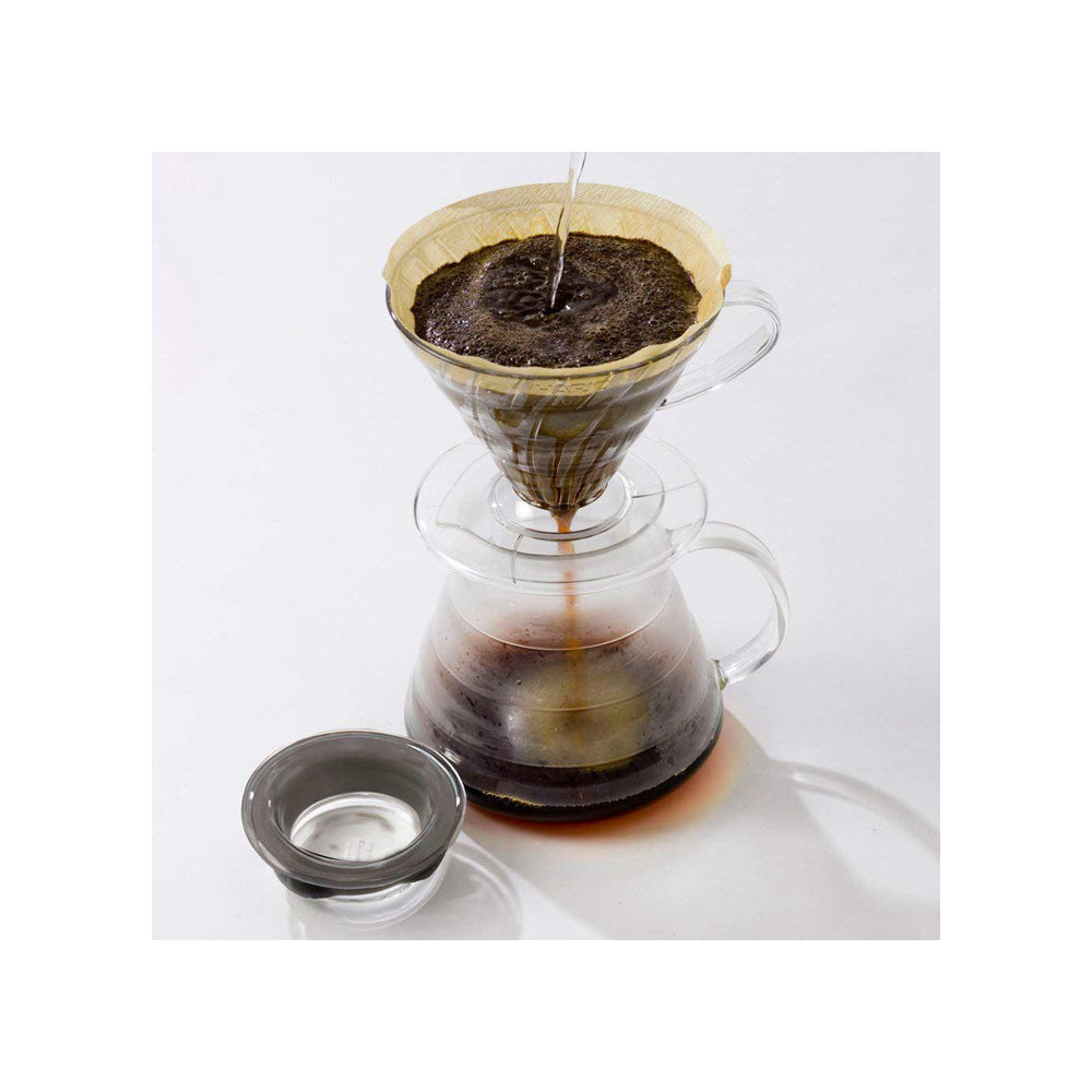 Professional and Elegant V60 Glass Range Coffee Server