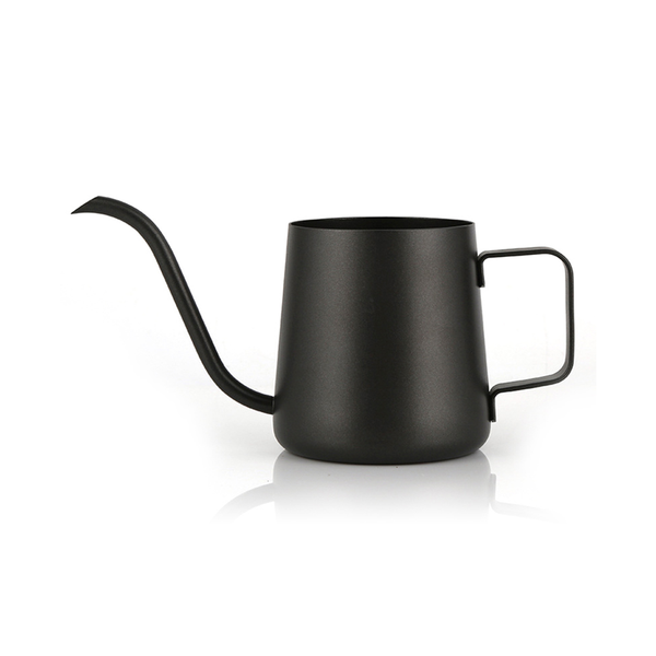 Stylish steel Long Mouth Coffee Pot for Pour Over Coffee