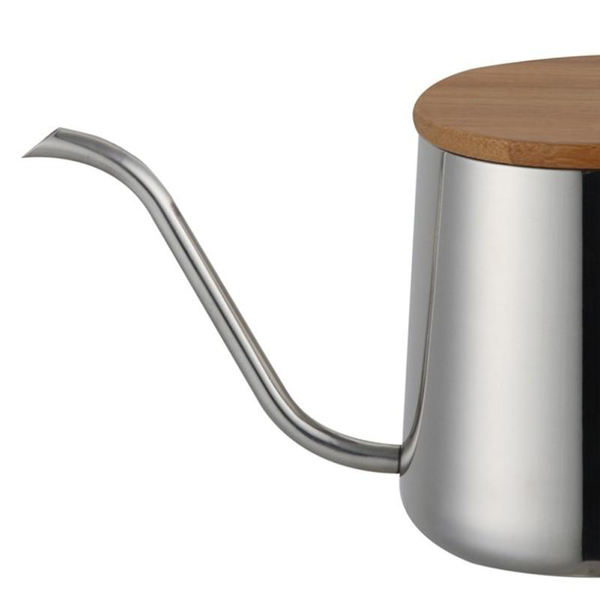 Long Narrow Coffee Pot Kettle Stainless Steel Hand Drip Kettle Pour Over Coffee