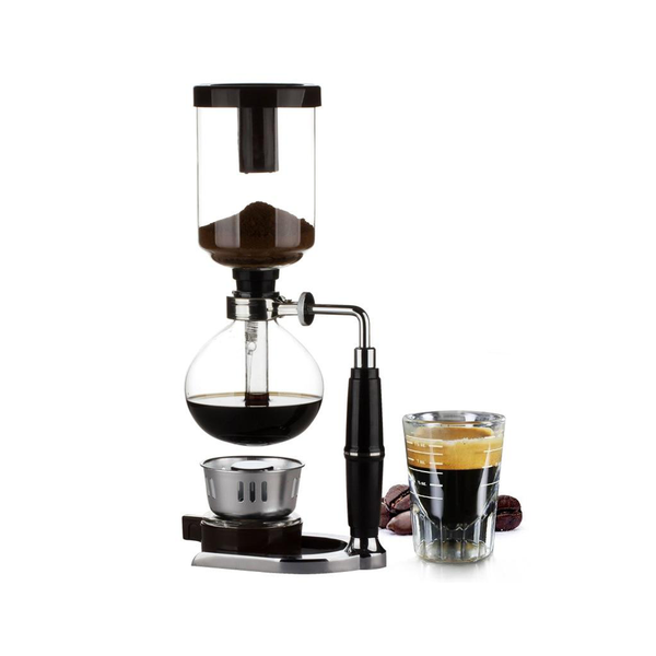 Professional Siphon coffee maker glass type with 3cup 5cups capacity