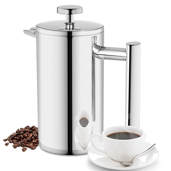 French Press Coffee Maker Double Walled Available in 350 800 1000 ML