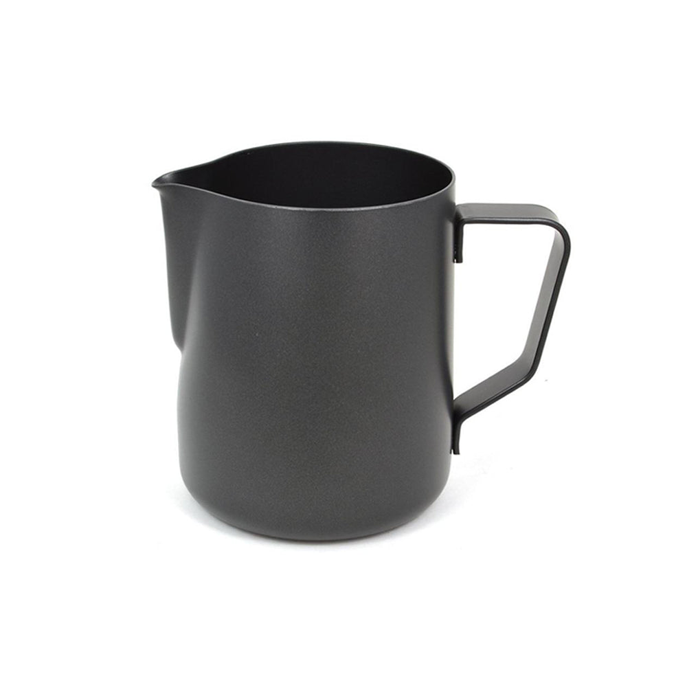 Black Stainless Steel Milk frothing Pitcher for Espresso Coffee and Latte Milk Jug