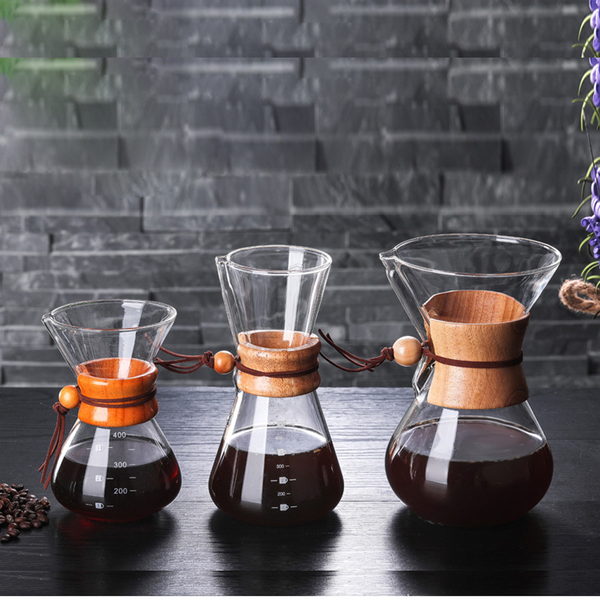 Chemex Coffee Pot Coffee Maker for Style Pour Over 600ml