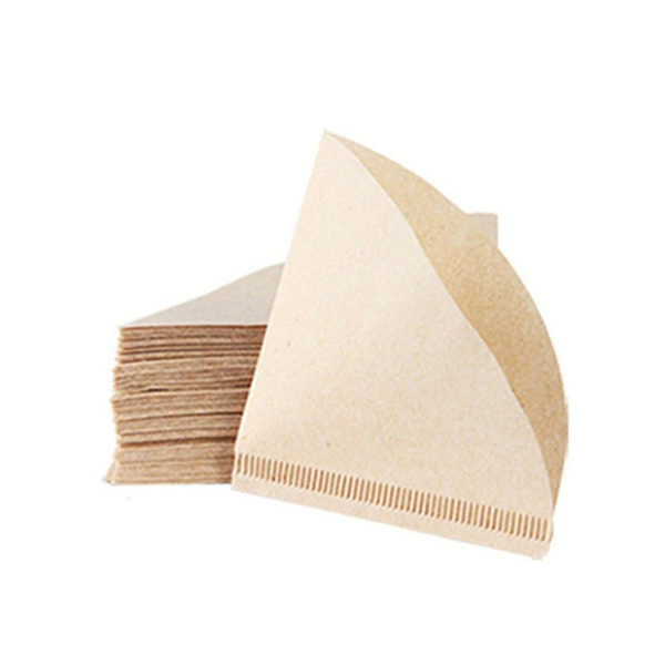 100 Pieces V60 Drip Paper Coffee Filters Avilable in multiple sizes