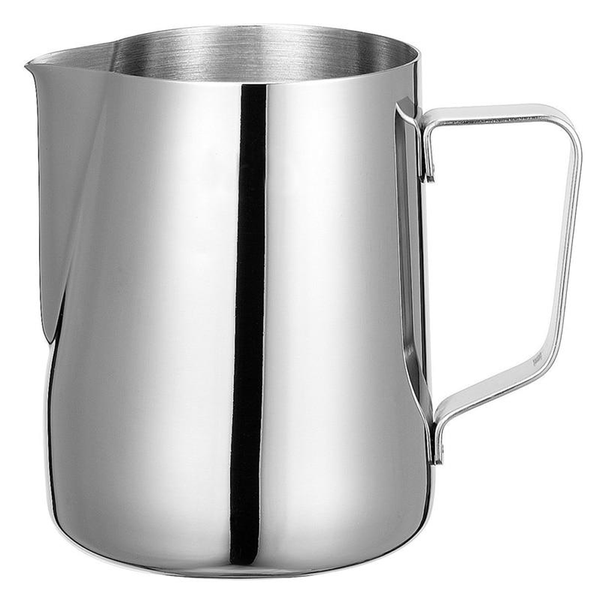 Silver Stainless Steel Milk frothing Pitcher for Espresso Coffee and Latte Milk Jug