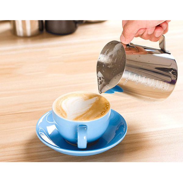Top Quality Stainless Steel Milk frothing for Craft Coffee Latte Milk Frothing Available in 350 600 1000ml