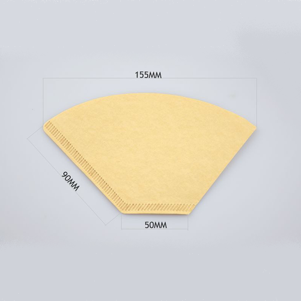 100PCS Coffee Filters for Coffee Dripper Filter, V60 filters