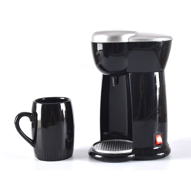 Mini American Coffee Machine Automatic Drip for Single Cup Coffee
