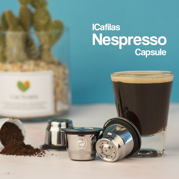 High Quality Stainless Steel Nespresso Capsules (Refillable, Reusable)