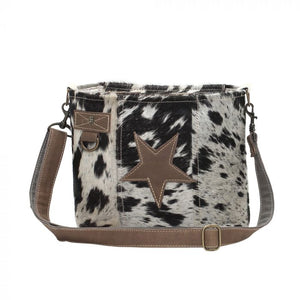Myra Star On Hair On Shoulder Bag