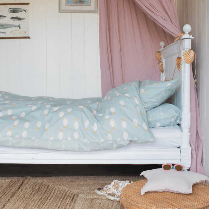 Anorak Fish Duvet Set - KING