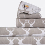 Anorak Kissing Stags Bath Mat