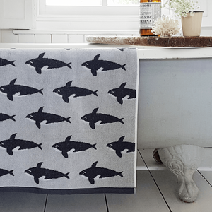 Anorak Orca Bath Sheet