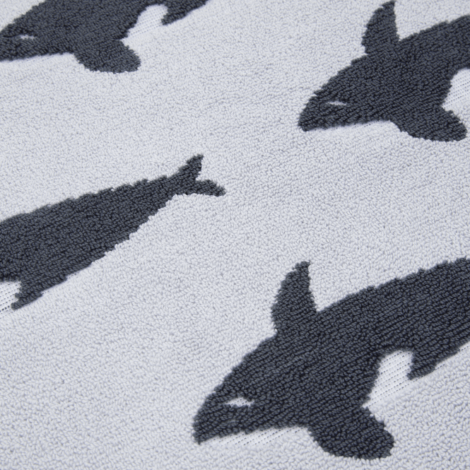 Anorak Orca Bath Towel
