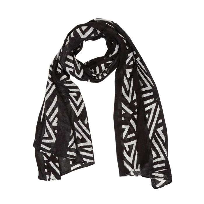 Myra Authentic Black Scarf