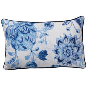 Paloma Living Chambray Tile Cushion 30cm x 50cm