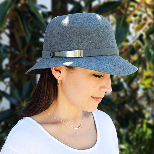 Sundaise Hats -  Cloche Felt Hat