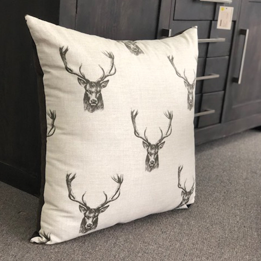 Reg Stag Silhouette Cushion