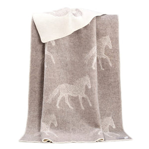 JJ Textile - Dot Horse Throw