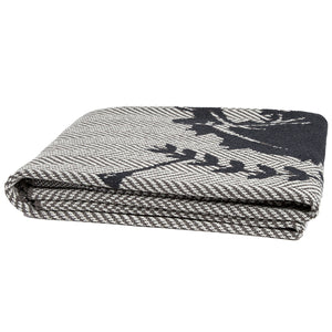 Eco Herringbone Crest Throw