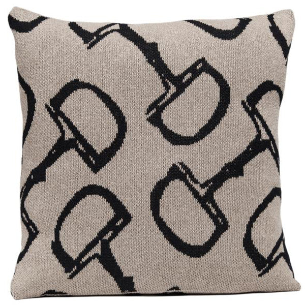 Eco Horse Bit Cushion Black/Hemp
