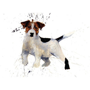 CSP Greetings - Jack Russell by Clare Brownlow