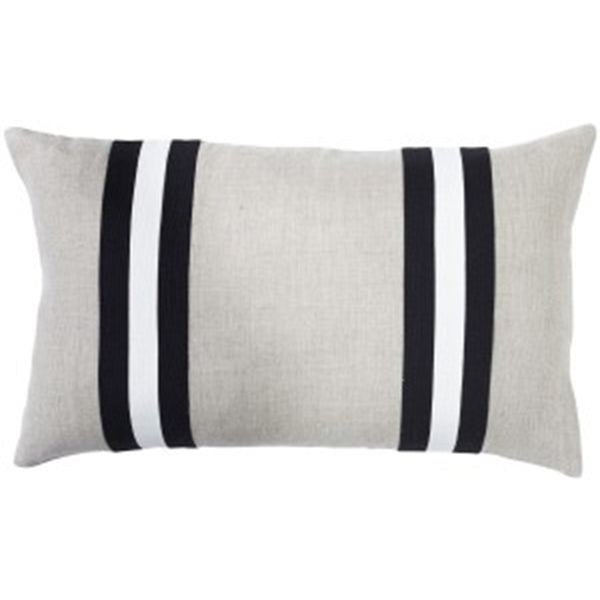 Paloma Living Linen Duo Stripe Black
