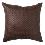 Paloma Living Leather Weave Cushion