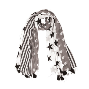 Myra Bags Dots with Stars Scarf