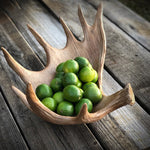 DWBH Moose Antler Fruit Bowl