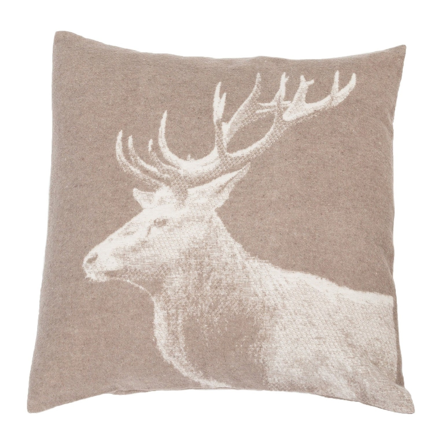 David Fussenegger Mud Stag Photo Cushion 50cm x 50cm