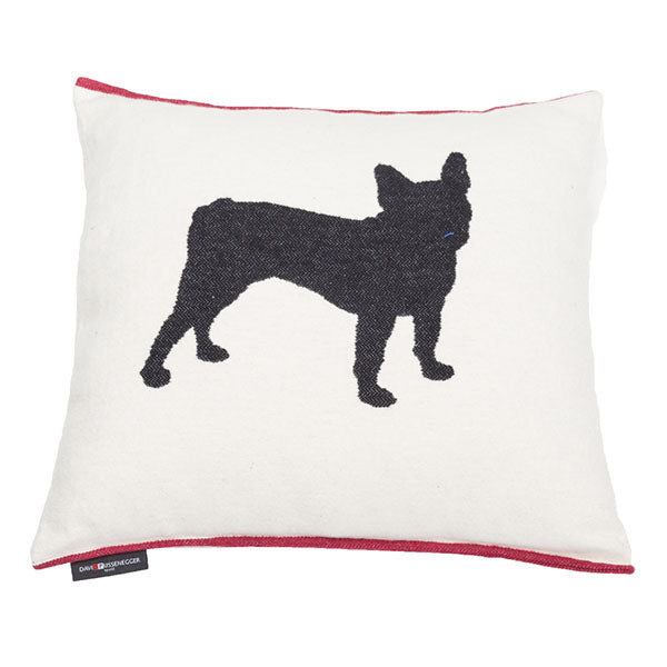 David Fussenegger Off French Bulldog Cushion