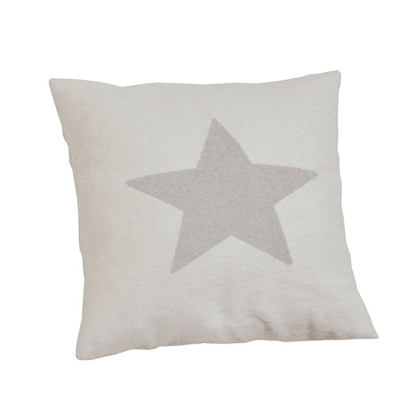 David Fussenegger Off White Star Cushion