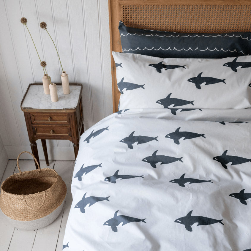 Anorak Orca Duvet Set - KING
