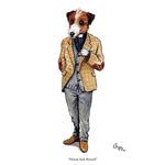 CSP Greetings - Parsons Jack Russell by Bryn Parry Greeting Card