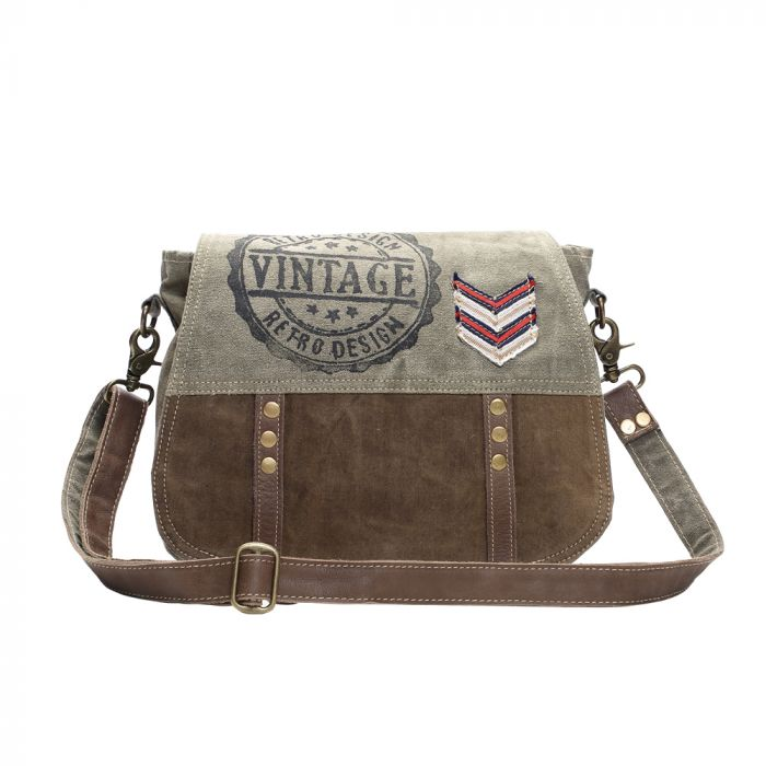 Myra Retro Design Messenger Bag