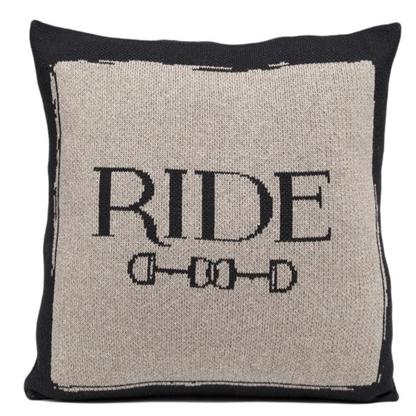 Eco Ride Cushion Black/Hemp