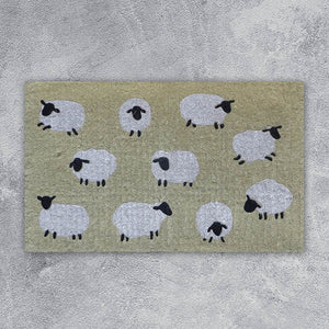 Door Mat - Sheep - 45cm x 75cm x 4cm